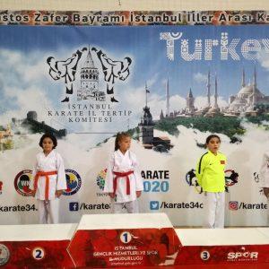 Zeynep KARAKOÇ – 2008 Doğumlu Bayan 35 Kg Kumite – 2.