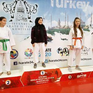 Beren Sude KOŞAR – 2004 Doğumlu Bayan Kata – 3.