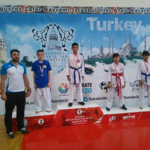 İbrahim KARAGÜL – 2004 Doğumlu Bay 40 Kg Kumite – 3.