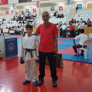 Ali İLHAN – 2006 Doğumlu Bay 50 Kg Kumite – 1.