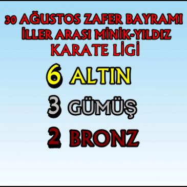 30 AĞUSTOS ZAFER BAYRAMI İLLER ARASI KARATE LİGİ