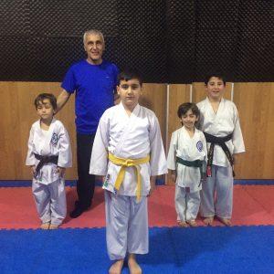 1.Yiğit Tarık OSMA - 2.Ali Nebi DAL - 3.İbrahim Salih YÖNEV - 3.Yasin SADAK