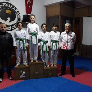 1.Ebrar AK - 2.Zeynep KARAKOÇ - 3.Ceyda KALKAN - 3.Hüseyin KURT