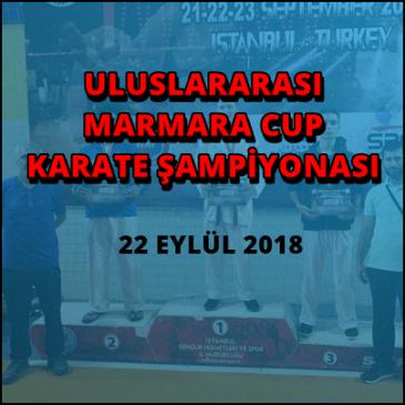 ULUSLARARASI MARMARA CUP KARATE ŞAMPİYONASI